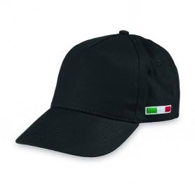 Cappello Golf Italy Cap 5 Pannelli 100% Cotone Unisex Ale