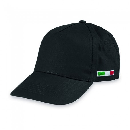 Golf Hat Italy Cap 5 Panels, 100% Cotton Unisex Ale