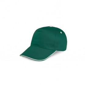 Cappello Baseball Cap 5 Pannelli 100% Cotone Unisex Ale