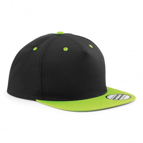 Cappello Snapback 5 Pannelli 100% Cotone Unisex Beechfield