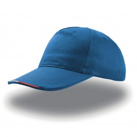 Cappello Start Five Italia 5 Pannelli 100% Cotone Unisex Atlantis