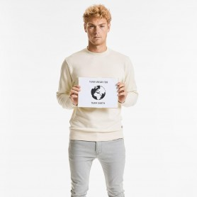 Sweat-shirt Pure 100% Bio (OCS 100) de l'équipage cou Unisexe Russel