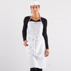 Parannanza/Apron 80/20 with 3 pockets Apron With Bib Color Italian