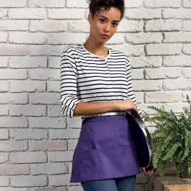 Short apron 195gr/m2 'Colours Collection' Three Pocket Apron with Premier