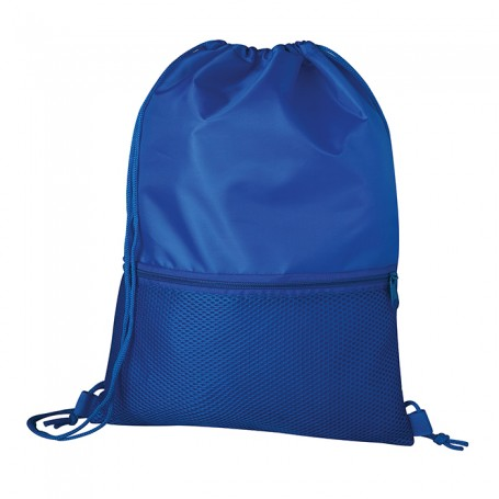 Bag/Backpack multi-purpose 22x44cm with pocket 100% Polyester Refrain