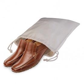 Sac à Chaussures de la Polyvalente 30x40cm 100% Coton, Dominique