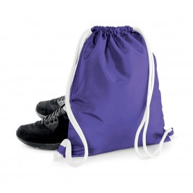 Bag/Backpack multi-purpose 36x42 cm color pocket 300D Polyester Icon Drawstring Backpack BagBase