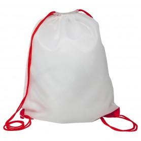 Sac/Sac à dos multi-objectif 34x42 cm Polyester Blanc Sublimation 210D Araignée Noire