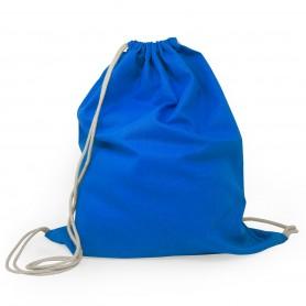 Bag/Backpack multi-purpose 40x50cm 100% Cotton with contrast laces, Cotton, Black Spider