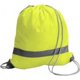 Bag with reflective stripes safety 39x36 cm 100% Polyester