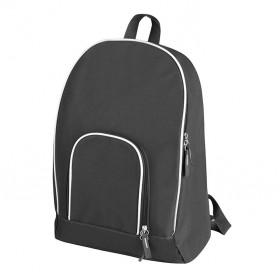 Backpack 31x42x13cm in 600D Polyester with zip closure fabric Nestor