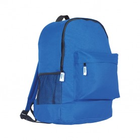 Backpack 31x40x18cm 600D Polyester with side pocket and perforated Track