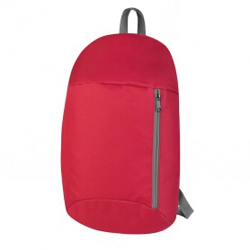 Backpack 23x40x15cm 600D Polyester with pocket vertical Simply Promo