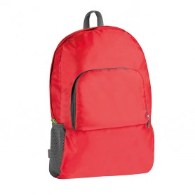 Backpack 30x44x15cm closable in the front pocket in Nylon Ripstop