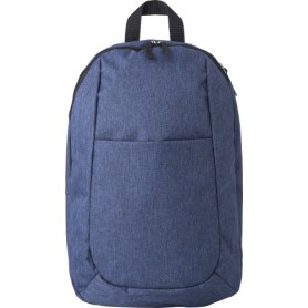 Backpack 42x28x11cm in 300D Polyester with inside and outside pocket
