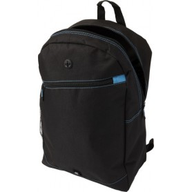 Backpack 50x26x14cm 600D Polyester with exit hole for earphones and side compartment