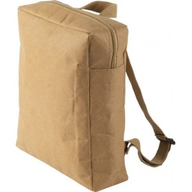 Backpack in laminated paper 310 gr/m2 39x37x10 cm Eco-friendly