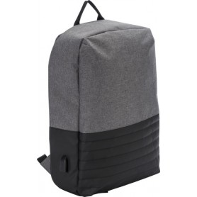 "Backpack anti-theft Port PC 15"" 41x29x10cm with USB on the side"