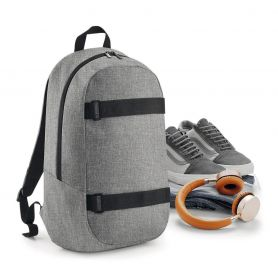 "Backpack PC 17"" 31x50x16cm with 2 bands front Carve Boardpack BagBase"