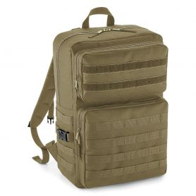 Backpack Molle Tactical Backpack Multipockets 600D Polyester Bag Base