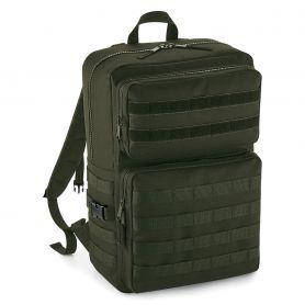 Kit Backpack Molle Tactical Backpack Multipockets 600D Polyester Bag Base