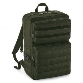 Kit Zaino Molle Tactical Backpack Multitasche Poliestere 600D Bag Base
