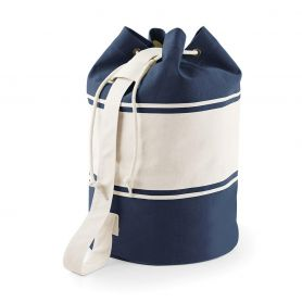 Backpack Bag 100% Cotton Canvas 400g 30 x 53 x 30cm Canvas Duffle Quadra