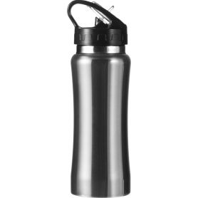 Water bottle Stainless Steel 600ml with spout, folding
