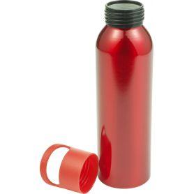 Water bottle Aluminum 650ml Trendy Design with screw cap