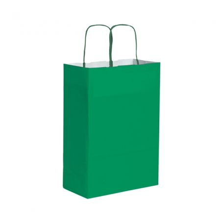 Shopping Bag 28 x 39 x 12 cm paper bag Kraft Size S