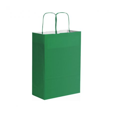 Shopping Bag 22 x 29 x 10 cm envelope with Kraft paper Size XS