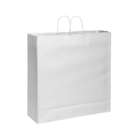 Shopping Bag 54 x 50 x 14 cm envelope in Kraft paper White