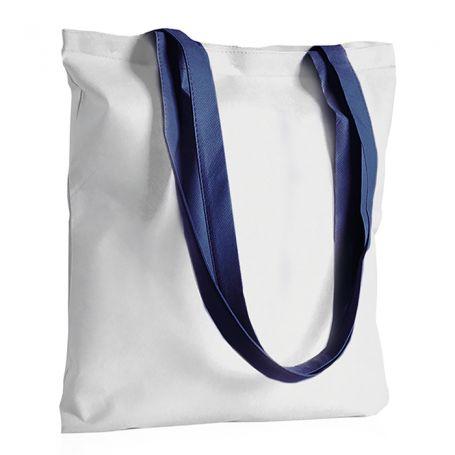 Shopper/Bag 38x42cm in TNT with long handles w/color Uranus