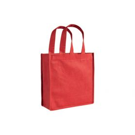 Shopper/Bag 22x25x10cm in TNT with long handles and Stellina