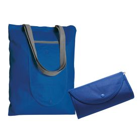 Shopper/Bag 39x47,5cm collapsible into TNT with long handles and Cleo