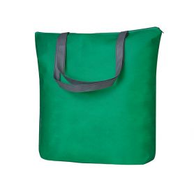 Shopper/Bag 43x40,5x11cm in TNT with zip closure and long handles Heracles
