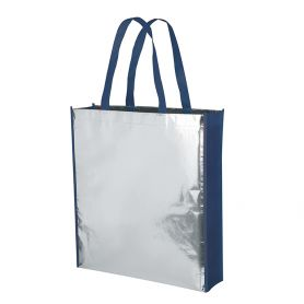 Shopper/Bag 38x42x10cm non-Glossy Laminated with long handles and Mirror