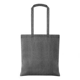 Shopper/Bag 38x42cm 100% Recycled Cotton 150gr/m2 long handles Anniehi