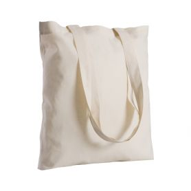 Shopper/Bag 38x42cm 280gr/m2 100% Natural Cotton long handles