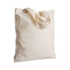 Shopper/Busta 38x42cm 100% Cotone 130gr/m2 color manici corti