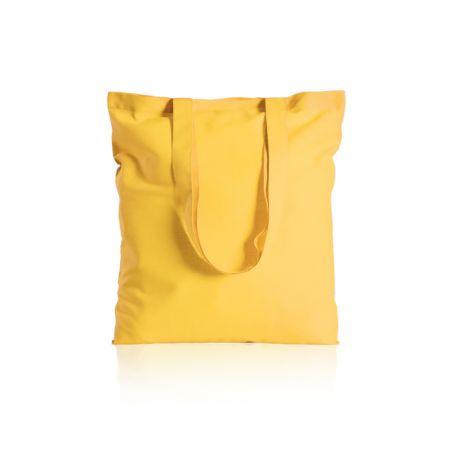 Shopper/Bag 38x42cm, 100% Cotton 130gr/m2 color long handles
