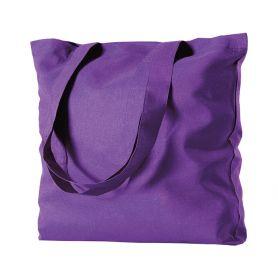 Shopper/Bag 42x42cm 100% Cotton 130gr/m2 color long handles
