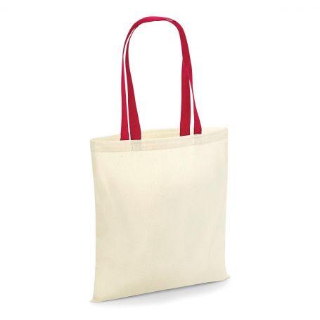 Shopper, 38x42 100% Cotton 140g/m2, long handles Westford Mill