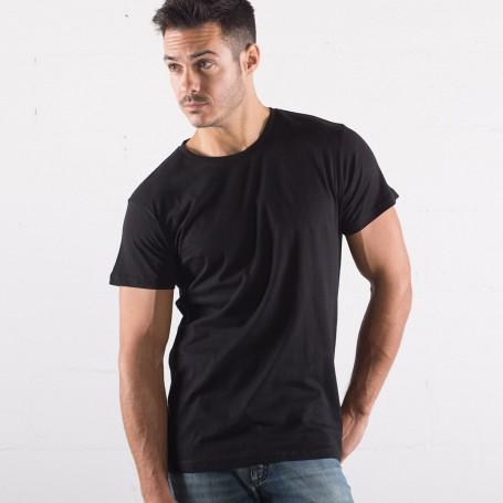 T-Shirt Evolution Organic T Unisex Manica Corta Black Spider