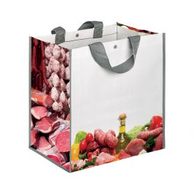 "Shopping bag Shopping 35x34,5x22cm, ""Gastronomy"" in Polypropylene"