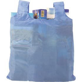 Shopping bag Shopping 54x44cm foldable with pouch 190T