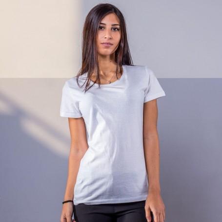 T-Shirt Evolution Organic T Women's Short Sleeve Black Spider
