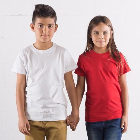T-Shirt Evolution Kids Manica Corta Black Spider