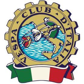 """Etichette Adesive in PVC per """"Vespa Club"""" su misura con stampa HD a colori"""