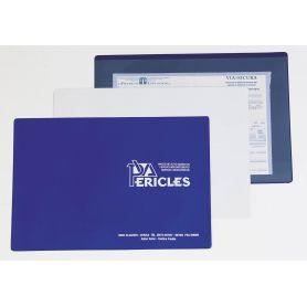La Politique de la porte, 26 x 18,7 cm PVC personnalisé avec votre logo!
